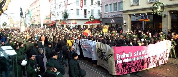 13.12.08 demo freiburg